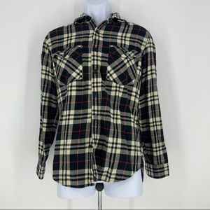 J. Crew Men Long Sleeve Casual Button Down Flannel